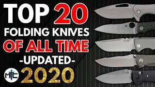 The TOP 20 Greatest EDC Folding Knives OF ALL TIME - According to Metal Complex - Updated 2020