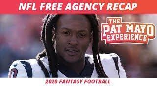 2020 Fantasy Football Rankings — NFL Free Agent Signings, NFL Trades, QB Landing Spots