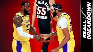 Lakers Cruise to Win As Heat Decimated With Injuries In Game 1 Of The 2020 NBA Finals