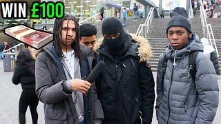 RAP Any DRILL Song Word For Word To Win £100 (ROADMAN EDITION)