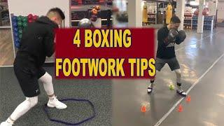 Best Boxing Footwork Techniques 2019 || Best 4 Tips For Boxing Footwork 2019 || Sports Fitness Club