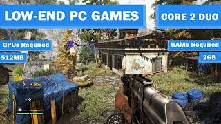 Top 10 High Graphic Games | Low End PC Games