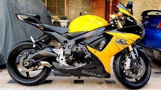 MOST BEAUTIFUL 2020 REVIEW SUZUKI GSXR 750 LUSH CONDITION TOP SPEED TEST RIDE SOUND REVIEW PK BIKES