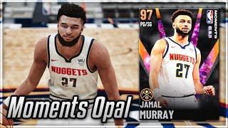 GALAXY OPAL MOMENTS JAMAL MURRAY GAMEPLAY!! A TOP 10 POINT GUARD IN NBA 2K21 MyTEAM!!