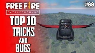 Top 10 New Tricks In Free Fire | New Bug/Glitches In Garena Free Fire #88