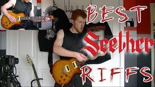 Top 50 Seether Guitar Riffs - Epic Guitar Medley