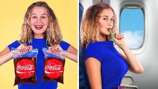 15 Ways to Sneak Snacks into the Plane!