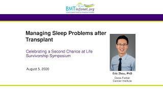 Managing Sleep Problems