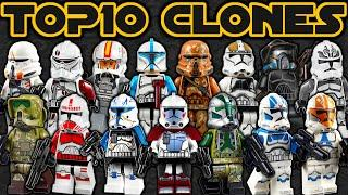 Top 10 LEGO Star Wars Clone Troopers EVER MADE