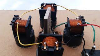 Free Energy Generator using copper coil and Neudymium magnet activity
