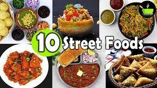 Top 10 Indian Street Foods | Best Street Food In Mumbai | Indian Street Food Series
