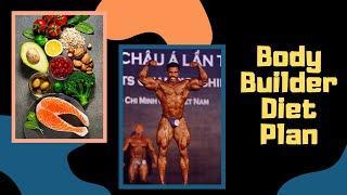 Best Bodybuilder Fitness  Diet Chart | Healthy Diet Plan | Murali Kumar | India's Top Body Builder