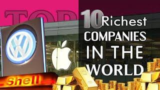 World's Top 10 Richest Companies | World's Biggest Companies in Hindi 2020 | #Richestcompanies
