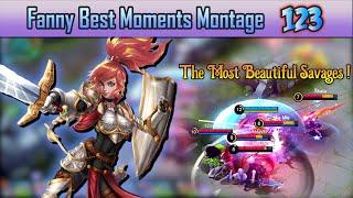 Fanny Best Moments Montage 123 | Fanny Savage & Maniac Moments - Mobile Legends