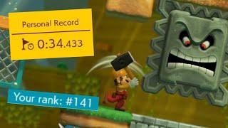 Player's Choice: Power-Up Party in 34.433 [Ninji Speedruns #10] | Super Mario Maker 2