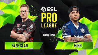 CS:GO - FaZe Clan vs. MIBR [Mirage] Map 1 - Group A - ESL Pro League Season 10 Finals