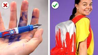 11 Back To School Supplies Ideas! Smart DIY School Accessories and School Hacks
