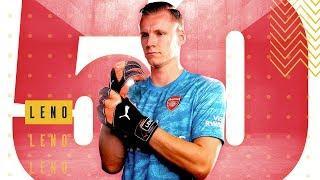 Bernd Leno   50 appearances   50 best saves compilation