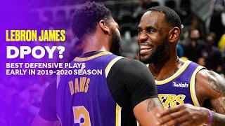 LeBron James' Best Defensive Plays From 2019-2020 Season (So Far)