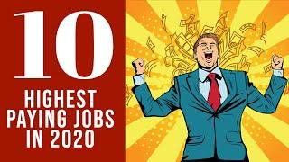 Top 10 highest paying jobs 2020   Highest Paying IT Jobs 2020   Best jobs in 2020    Great Learning