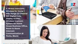 Best Wireless Intercom System | Top 10 Wireless Intercom System for 2020-21 | Top Rated
