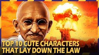 TOP 10 CUTE CHARACTERS THAT LAY DOWN THE LAW | #ZOOMINGAMES