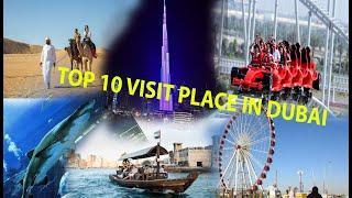 Dubai top 10 best place