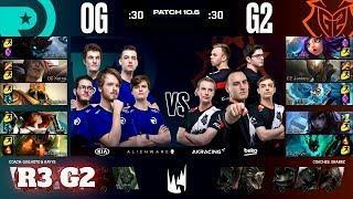 Origen vs G2 Esports - Game 2 | Round 3 PlayOffs S10 LEC Spring 2020 | OG vs G2 G-2