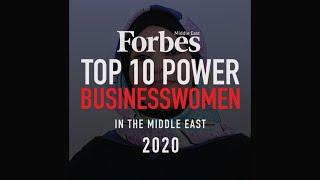 Top 10 Power Businesswomen in the Middle East 2020
