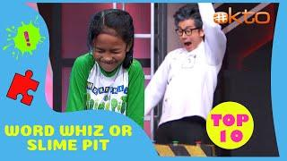 Word Whiz or Slime Pit | More Top 10 Times Slime Moments!