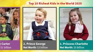 Top 10 Richest Kids in the World 2020 | Information Bank