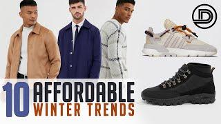 Top 10 AFFORDABLE Winter Trends 2020 | Men's Fashion