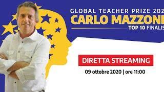 Evento Carlo Mazzone - Top 10 finalist - Global Teacher Prize