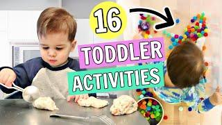16 Toddler Activities You Can Do at Home | 1-2 year olds
