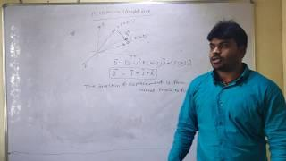 INTRODUCTION OF MOTION IN STRAIGHT LINE(MOTION IN A STRAIGHT LINE)
