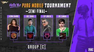 Hello Yo Pubg Tournament | Semi Finals - Group C | Top Clan War - TCW