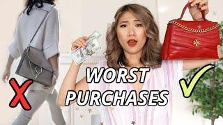 The 5 WORST Purchases I Made in My 20s! things I regret buying...