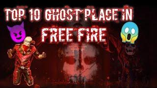 Top 10 Ghost Place in Free Fire | 10 भूतिया जगह | Er. Gaming | Garena Free Fire |
