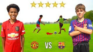 10 Year Old KID SANCHO vs 10 Year Old KID GRIEZMANN.. AMAZING Football Competition