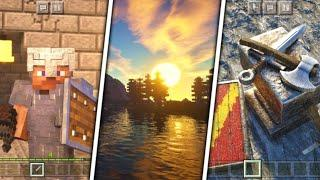 [RTX] Top 10 Realistic Shaders For Low End Devices (1.16+) - Minecraft Pocket Edition