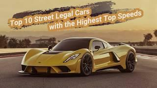 Top 10 Fastest Road Legal Cars in the World 2020