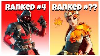 Top 10 Most UNDERRATED SKINS In Fortnite Chapter 2! (Underrated Fortnite Skins)