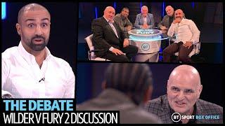 Wilder v Fury 2: The Debate full episode   John Fury, David Haye and Paulie Malignaggi have it out