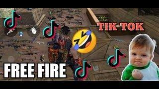 FREE FIRE BEST TIK TOK VIDEO PART-5 BEST FUNNY VIDEOS GARENA FREE FIRE || QNA ANNOUNCEMENT