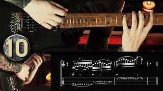 TOP 10 SHRED GUITAR LICKS | Guitar Lesson + TABS