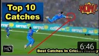 Top 20 best catch in cricket history. one hand catch