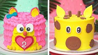 Top 10 Beautiful Cake Decorating Ideas for Perfect Party   Yummy Cake Decorating Tutorials