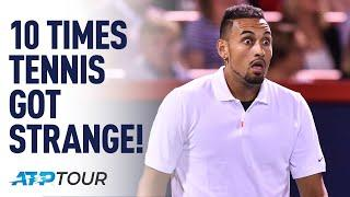 10 Times Tennis Got Strange! | TOP 10 | ATP