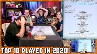 The Top 10 Board Games We Played in 2020! | Live Stream Upload