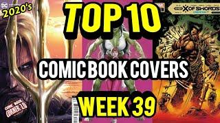 Top 10 Comic Book Covers Week 39 | NEW Comic Books 9/23/20